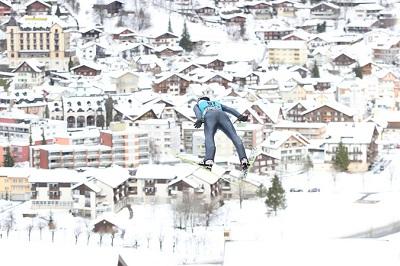 World Cup Skijumping in Engelberg